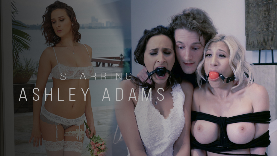 Teen Creeper Ashley Adams Bridal Fuck
