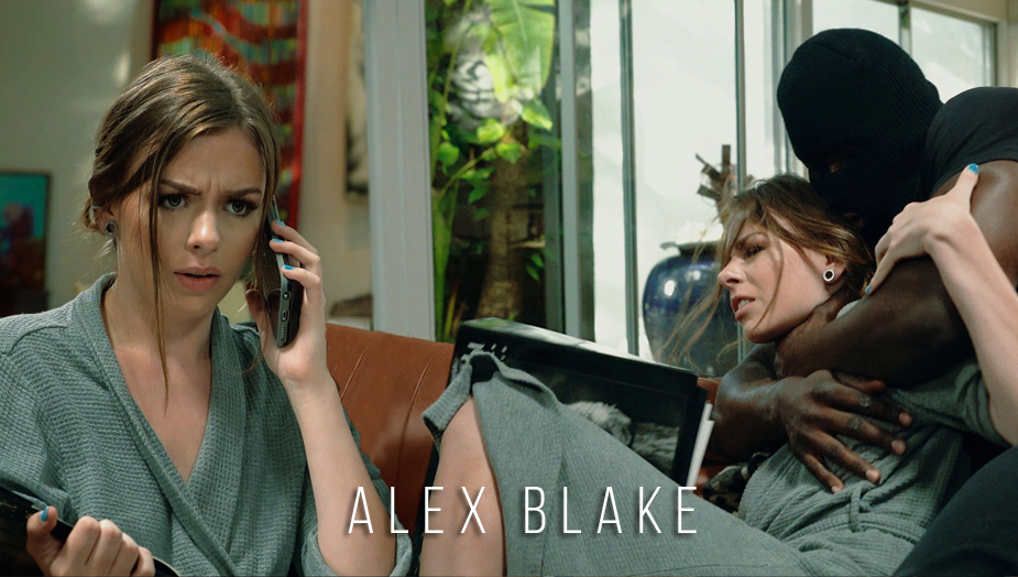 Alex Blake in Teen Creeper